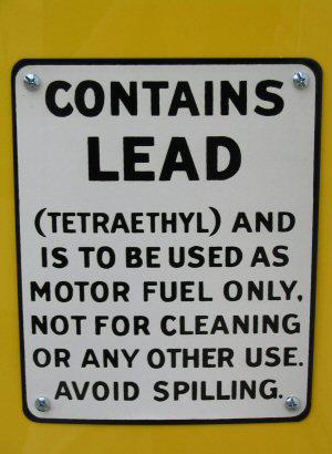 Leadgaspumplabel