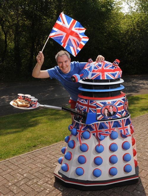 Chris-Balcombes-Royal-Wedding-dalek
