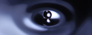 Water droplet_top