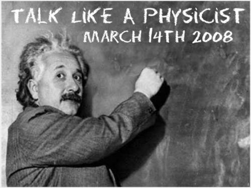 Talklikeaphysicst