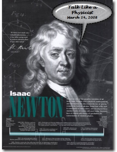 Newtontalklikeaphysicist