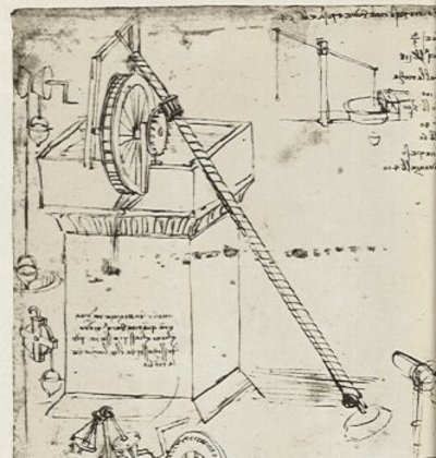 A Lot Of His Renderings Were For His Resume And Never Made Into  Actualarchitecture. I See Regular Architects And Engineers Nowadays Caked  Up.  Leonardo Da Vinci Resume
